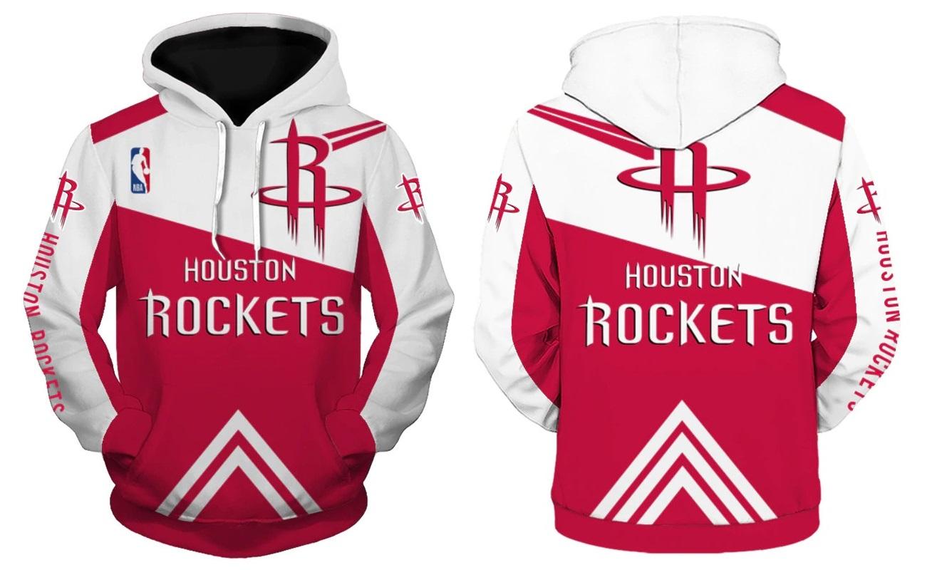 0f9cd4e5c Houston Rockets Hoodie NBA Basketball Sweatshirts New Season ...