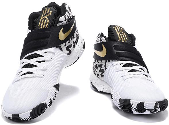 promo code 27413 3bcfa Nike Kyrie 2 ID Camo White Black and Gold from BELLDRESS