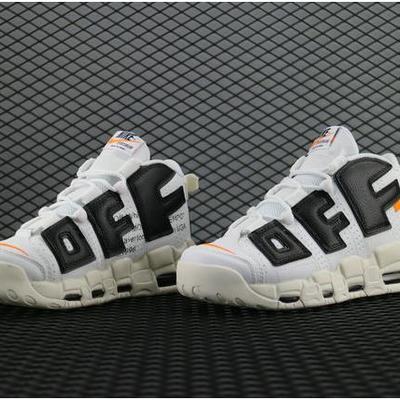 pretty nice e6980 79dd5 Le scarpe alla moda off-white x nike air more uptempo 902290 106 white black
