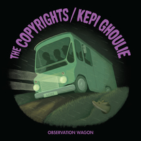 "The Copyrights / Kepi Ghoulie ""Observation Wagon"" 7"" CCCP 221-7 medium photo"
