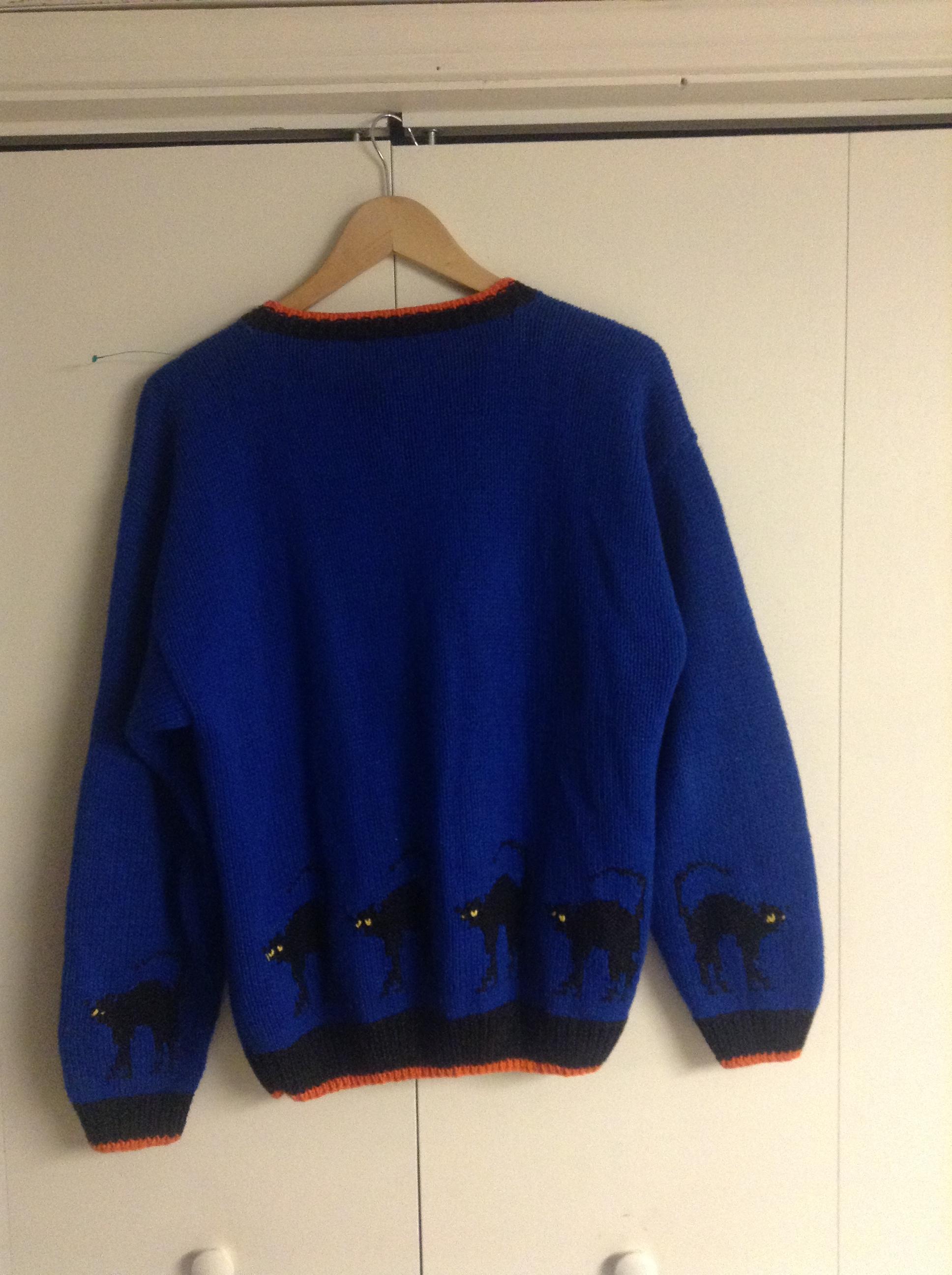 Vintage Plus Size Halloween Sweater On Storenvy