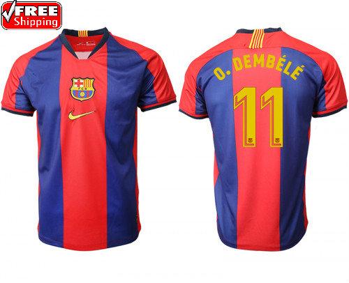 wholesale dealer 04dfc 69e48 Ousmane Dembele Men's Barcelona Home Soccer Jersey from SportsWorld2016