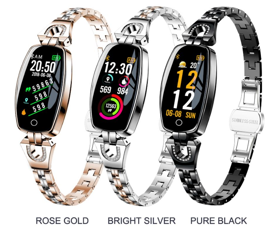 Women Wearheart Heart Watch Pulse Pressure Bluetooth Smartwatch Android or  IOS
