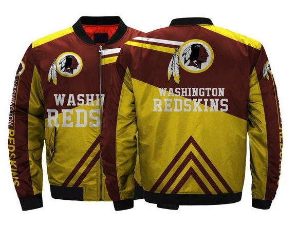 New Washington Redskins NFL Team Men Bomber Jackets Coats on Storenvy