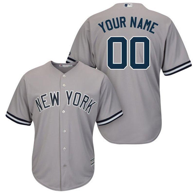 03d69a38a Mens New York Yankees Custom Name & number Cool Base Baseball Jersey ...