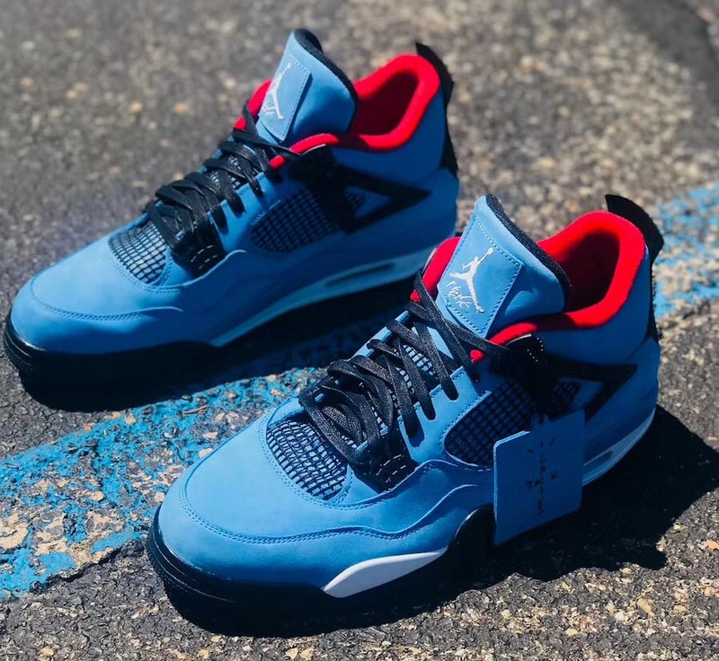 "pretty nice 723d8 dd6fe Nike Air Jordan 4 Retro Travis Scott Cactus Jack ""Houston Oilers"" Shoes  sold by ivicente"