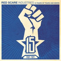 "Various Artists ""Red Scare Industries: 15 Years of Tears and Beers"" CD CCCP 222-2 medium photo"