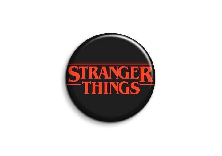 Stranger Things Fridge Magnet Novelty Gift Eleven Pinback Button Badge Yarn Subscription 125mm