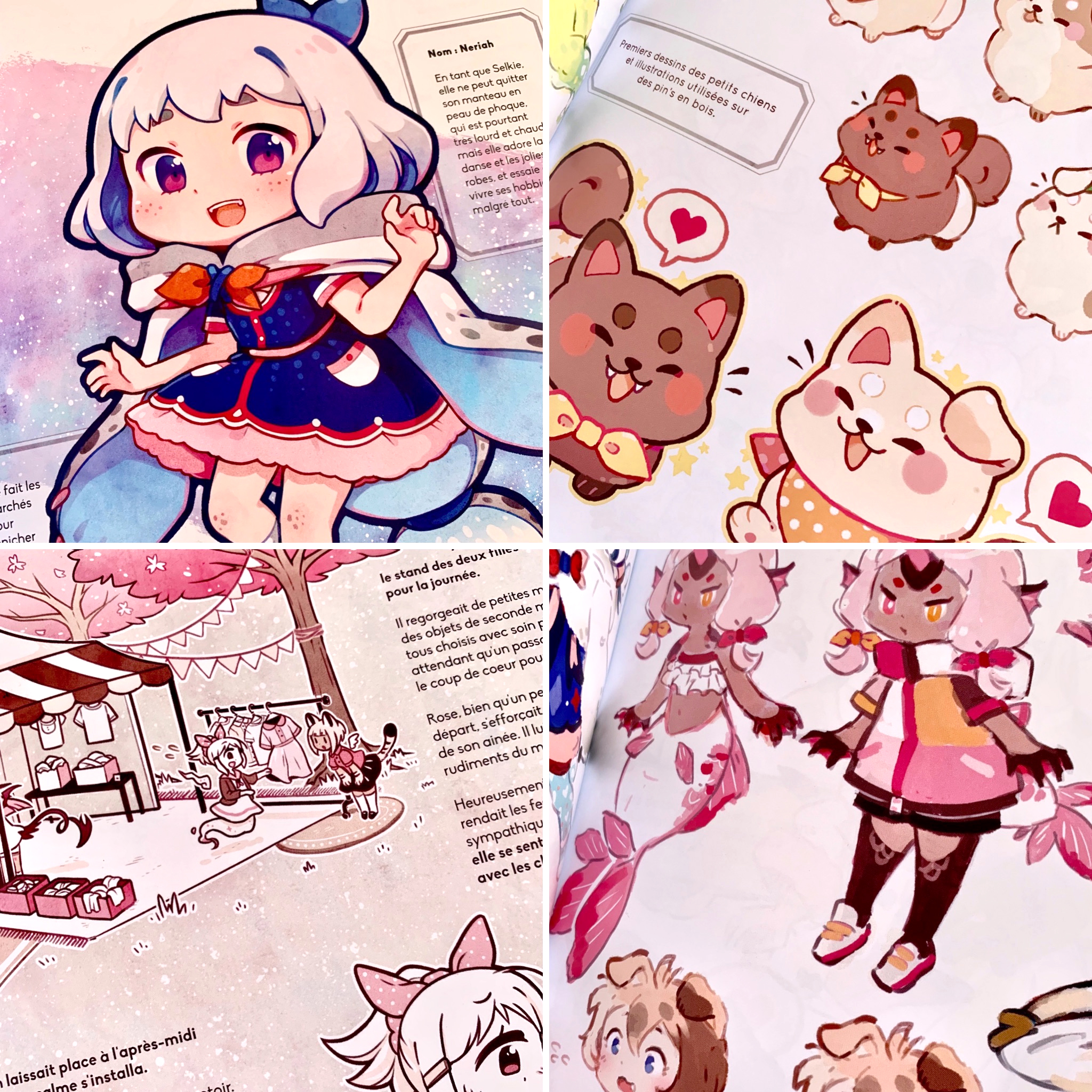Cute Claws Volume 2 Fr Story Book From Mi Eau S Shop