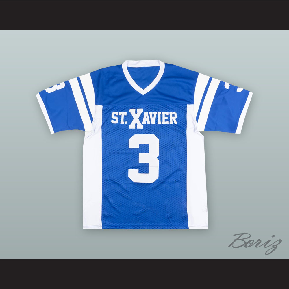 buy online 4a4ed 28324 Luke Kuechly 3 St. Xavier High School Blue Football Jersey from acbestseller