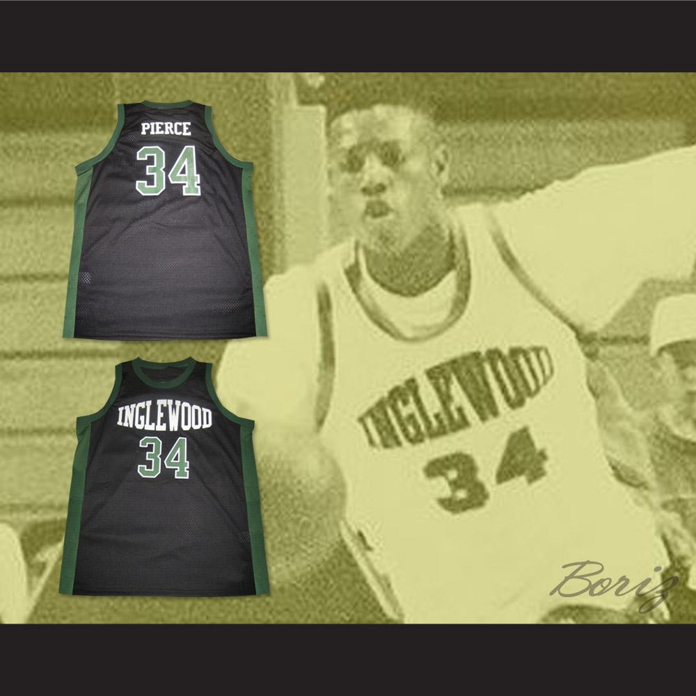 efabb5350 ... Paul Pierce 34 Inglewood High School Basketball Jersey NEW Stitch Sewn  - Thumbnail 2