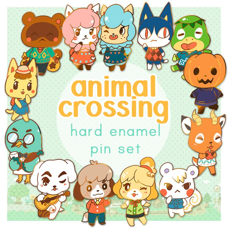 chibi animal crossing villagers cute