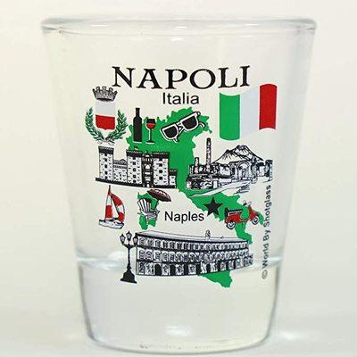 FLORENCE ITALY GREAT ITALIAN CITIES COLLECTION SHOT GLASS SHOTGLASS FIRENZE