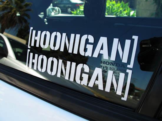 Hoonigan x2