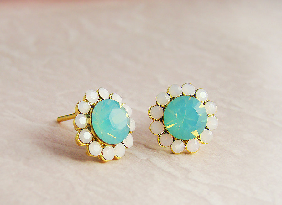 Elegance Blue Sky Earrings