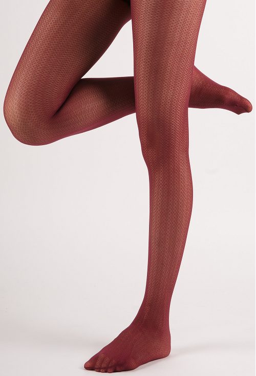 0ea35d547 Micro-Mini Sheer Color Tights - Burgundy · Miss Olina · Online Store ...