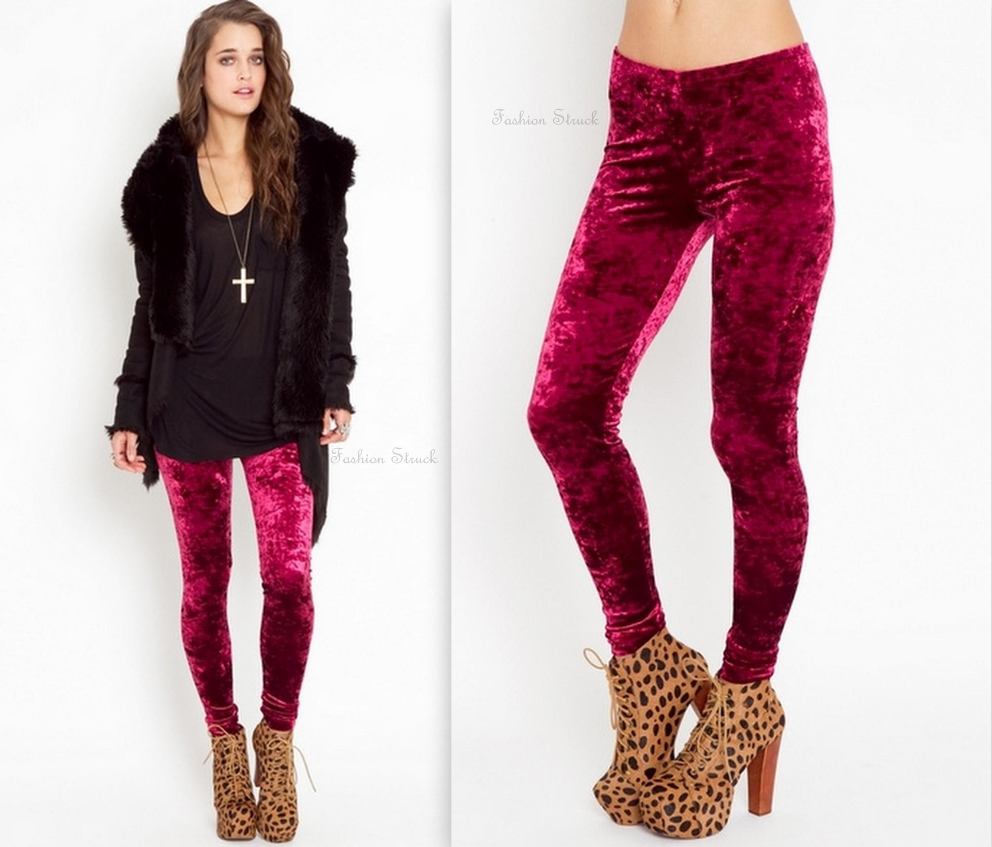 Winter Leggings Velvet Legging Women Pants Black Stretch Leggins Skinny Jeggings. Brand New. $ Buy It Now. Free Shipping. + Sold. OLD NAVY VELVET LEGGINGS LOT SIZE LARGE WOMENS PANTS CLOTHES 10 12 L VELOUR EUC. Pre-Owned.