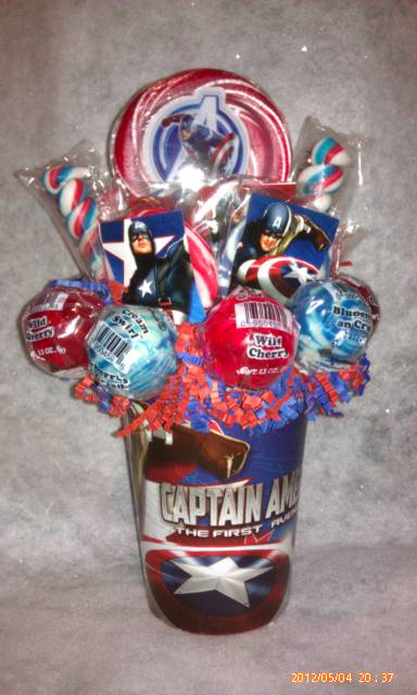 Avengers Lollipop Bouquet On Storenvy