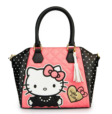 39f3448f52 Hello Kitty Quilted Pearls With White Polka Dots Bag · Trends ...
