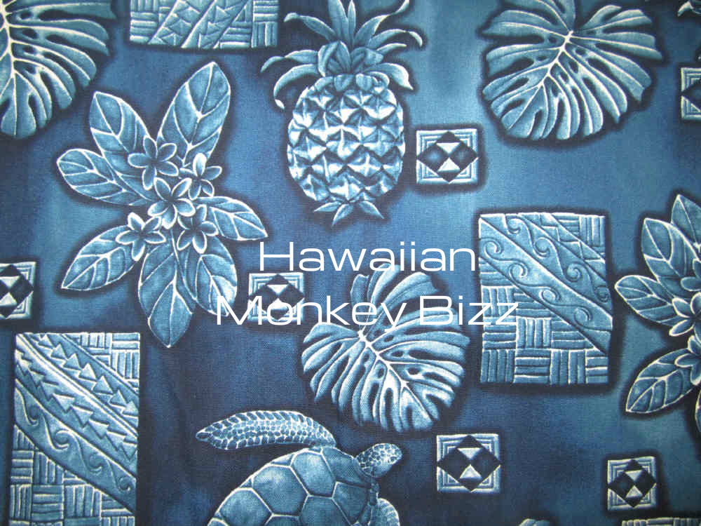 Groovy Blue Pineapple Turtle Fern Hawaiian Car Seat Covers 2Pc Uwap Interior Chair Design Uwaporg