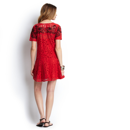 b23aea4220 FREE PEOPLE Short Sleeve Lace Beautiful Dreamer Dress on Storenvy