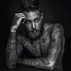 sexy tattoo naked man